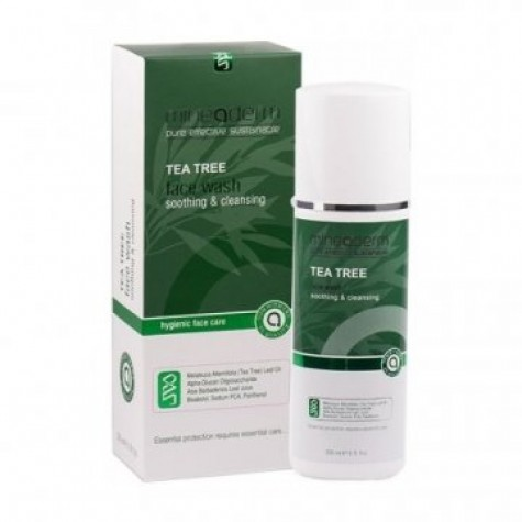 Mineaderm Tea Tree Face Wash Soothing & Cleansing 200 ml