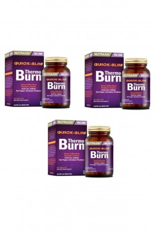 Nutraxin Quick-Slim Thermo Burn 60 Tablet 3`lü