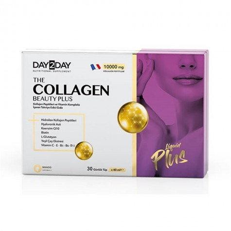 Day 2 Day The Collagen Beauty Plus 30 Shots 40 ml