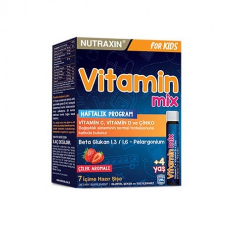 Nutraxin Vitamin Mix For Kids 7x25 ml