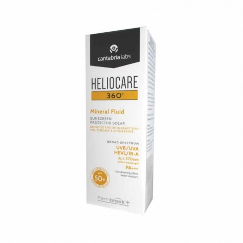Heliocare 360 Mineral Fluid SPF50+ 50ml